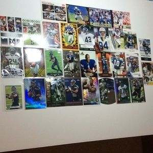 Seattle Seahawks football card lot of 30 Wilson